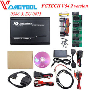 Fg Tech Galletto 1260 Ecu Chip Flasher Tuning Vag Cable Obd V54 Support Bdm 0475
