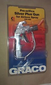 Graco Silver Plus Airless Spray Gun 235 462 235462 New Unopened Sealed Package