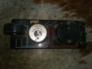 Weston Photronic Relay Model 607 Vintage Newark Nj