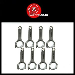 Manley For 9281 Chevrolet Small Block H Beam Connecting Rods Pin Bore 14054r 8