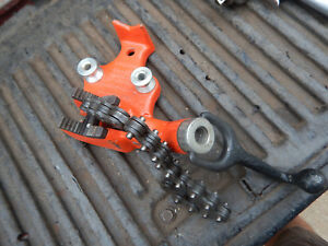 Ridgid Bc 210 Pipe Chain Vise With Bender