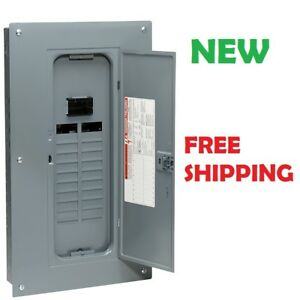 Square D 100 Amp Load Center Main Breaker Panel Electrical 40 circuit 20 space