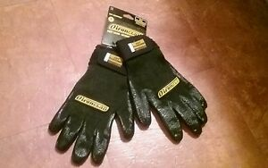 lot 4 Pairs Ironclad Gloves Size Large Black Ironclad Cut Resistant Gloves