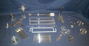 Lot Of 43 Pieces Lab Glass Vintage Antique Interesting Odd Chemistry