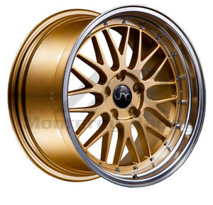 19x8 5 5x108 Jnc 005 Gold Made For Ford Volvo Jaguar Range Rover