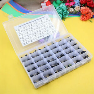 Radial Aluminum Electrolytic Capacitor Assortment Box Kit 36value 1000pcs 105