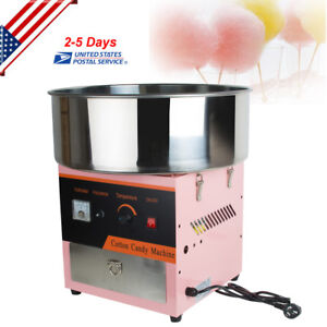 Cotton Candy Maker Machine Floss Commercial Carnival Party Fluffy Sugar From Usa