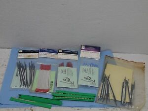Brady Clip sleeve Wire Markers 4 Sizes New In Pack Some Out Of Packs