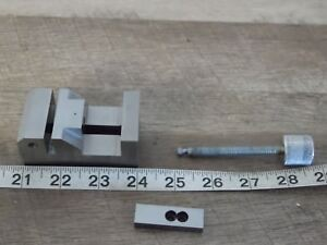 Precision 2 5x1 5x1 3 8 Toolmaker Vise Machinist Unfinished Look