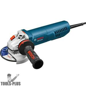 Bosch Gws10 45p 4 1 2 Angle Grinder 10 Amp W Lock on Paddle Switch New