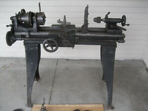 South Bend Lathe 9 22 z 3 1 2 Bed Milling Attachment Look All 12 Pictures