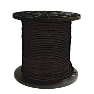 Gauge Black Stranded Cu Thhn Wire 500 Ft 8 Single Conductor Electrical Wire