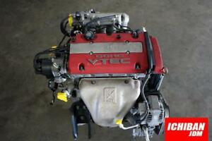 H22a Long Block Motor Type R Engine Euro R Dohc Vtec Motor Only Prelude Accord