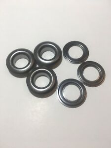 500 2 3 8 Black free solid Brass Self Piercing Grommet Washers 500 Pair