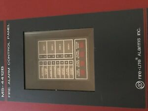 Fire lite Ms 4412b Fire Alarm Panel