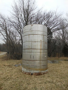 4500 Gallon Stainless Steel Tank Liquid Fertilizer Water