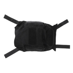 Hunting Gear Combat FAST Camo Helmet Cover without Helmets Nylon Black $10.02