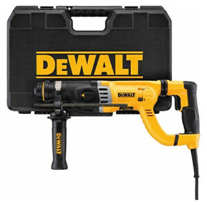 Dewalt Roto Hammer D25263k D handle Sds Rotary Hammer With Shocks 1 1 8 New