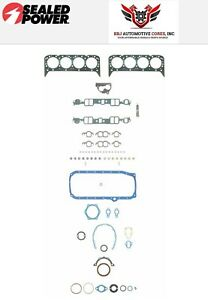 Chevy Sbc 305 5 0 Sealed Power Felpro Overhaul Gasket Set 1987 1995