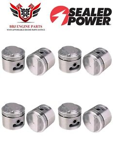 Buick 401 Nailhead V8 Sealed Power Pistons 8 1959 1966
