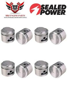 8 Sealed Power Gm Buick 401 Nailhead V8 Pistons 1959 1966