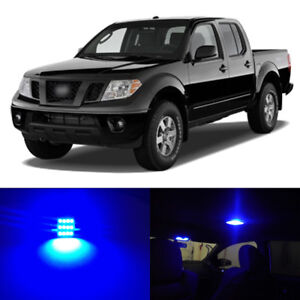 7 X Blue Led Interior Bulbs Light Package Kit For 2005 2018 Nissan Frontier