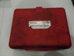 Matco Tools Basic Fuel Injection Tester Kit Fit448 Car Mechanic Shop Tf