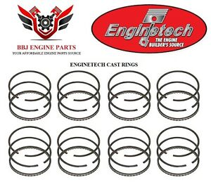 Enginetech Chrysler Dodge Mopar 318 5 2l Piston Rings 1959 1991