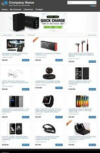 Smartphones And Accessories Website Business For Sale Mobile Responsive Design