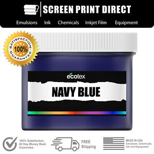 Ecotex Navy Blue Np Premium Plastisol Ink For Screen Printing 1 Gal 128oz
