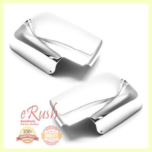 For 2008 2009 2010 2011 2012 2013 Nissan Rogue Chrome Side Mirror Cover Covers
