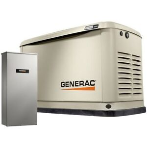 Generac Guardian 20kw Standby Generator System 200a Service Disconnect Ac