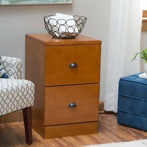 Belham Living Cambridge 2 drawer Wood File Cabinet Light Oak Light Oak