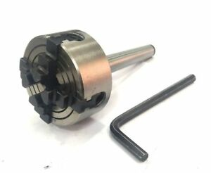 Mini 50 Mm 4 Jaw Independent Chuck With Mt1 Shank Arbor lathe mill Engineering