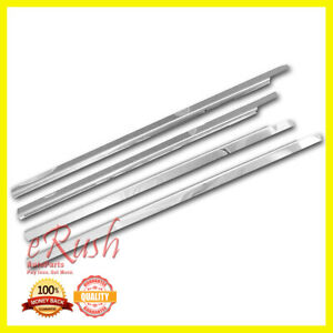 For 2008 2012 Ford Escape Chrome Stainless Steel Window Sill Sills Trims 4pcs 11
