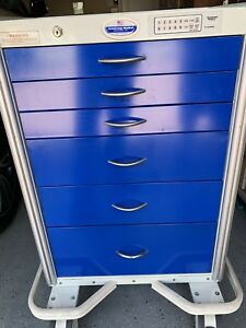 Armstrong A smart Medical Crash Cart Emergency Cart computer scan storage Shelf