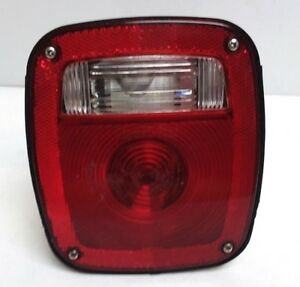 4021 Signal stat Red Tail Light 2 Stud Mounting