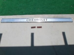1977 Chevy Truck Tailgate Chevrolet Panel Trim Moulding