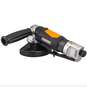 Freeman 5 Inch Air Pneumatic Compressor Angle Grinder Variable Speed Tool Kit