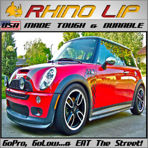 Mini Cooper Mini Hatch F55 Hardtop F60 R61 Gp Rhinolip Flexible Rubber Chin Lip