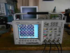 Tektronix Tds3054b 500 Mhz 5gs s 4ch Oscilloscope Dso From A Tds3014b