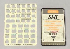 Smi Dot Data Collection Card For Hp 48gx Calculator