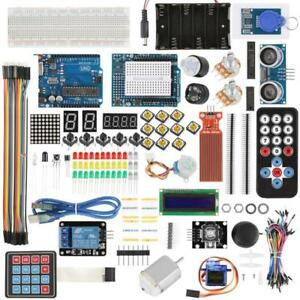 1 Set Uno Starter Learning Kit For Uno R3 Development Breadboard Leds Parts New