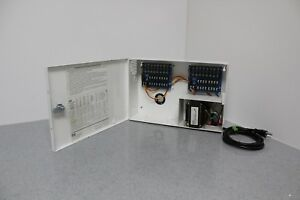 Esd Pda 16et8 Cctv Camera Power Supply 24 Vac 7 3a 16 Circuit Outputs Free S