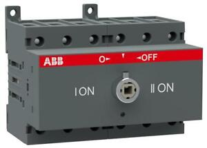 Abb Change over And Transfer Switch Ot63f3c Nib