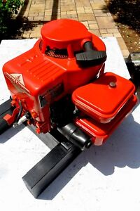 Vintage Briggs And Stratton Gas Engine Runs Good Model 81902 Offers Accepted