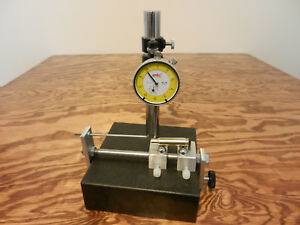 Precision Cartridge Brass Case Measuring System W Analog Dial Indicator
