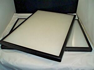 Two Jewelry Display Case Riker Mount Display Box Shadow Box Size Bigger Size