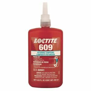 Loctite 250 Ml Bottle 609 General Purpose Retaining Compound
