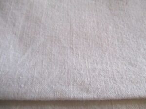 Vintage French M Tis Linen Country Sheet Heavy Large